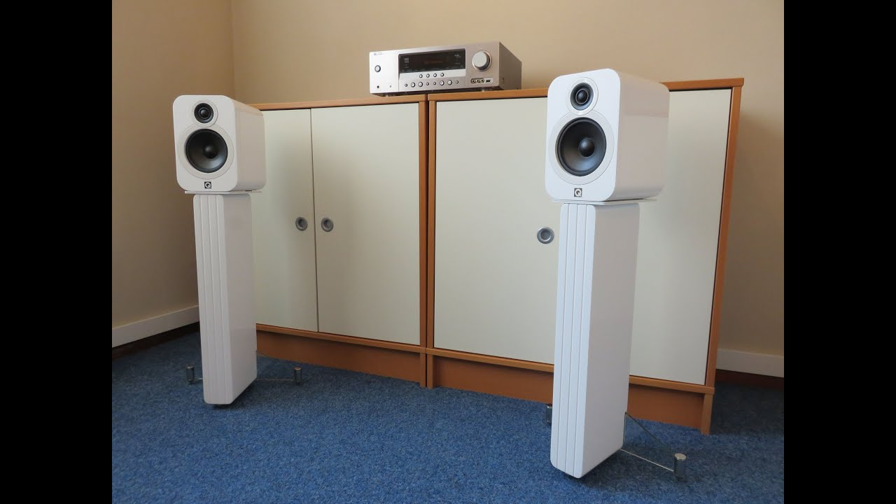 Q Acoustics 3020 speakers and Concept 20 stands recordings ...