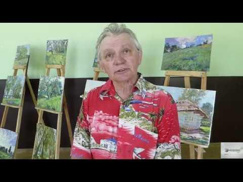 Пленер «Стежками Тараса. Вільшана - 2019» : Василь Красьоха