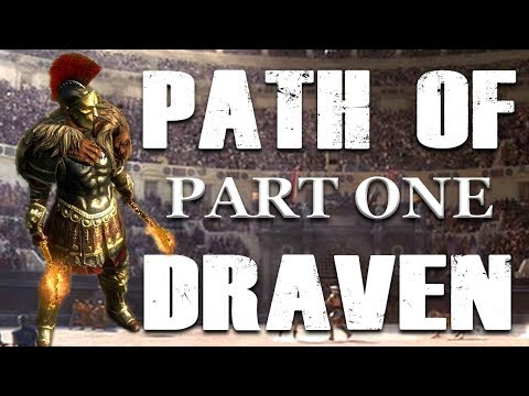 Creating Draven in Path of Exile