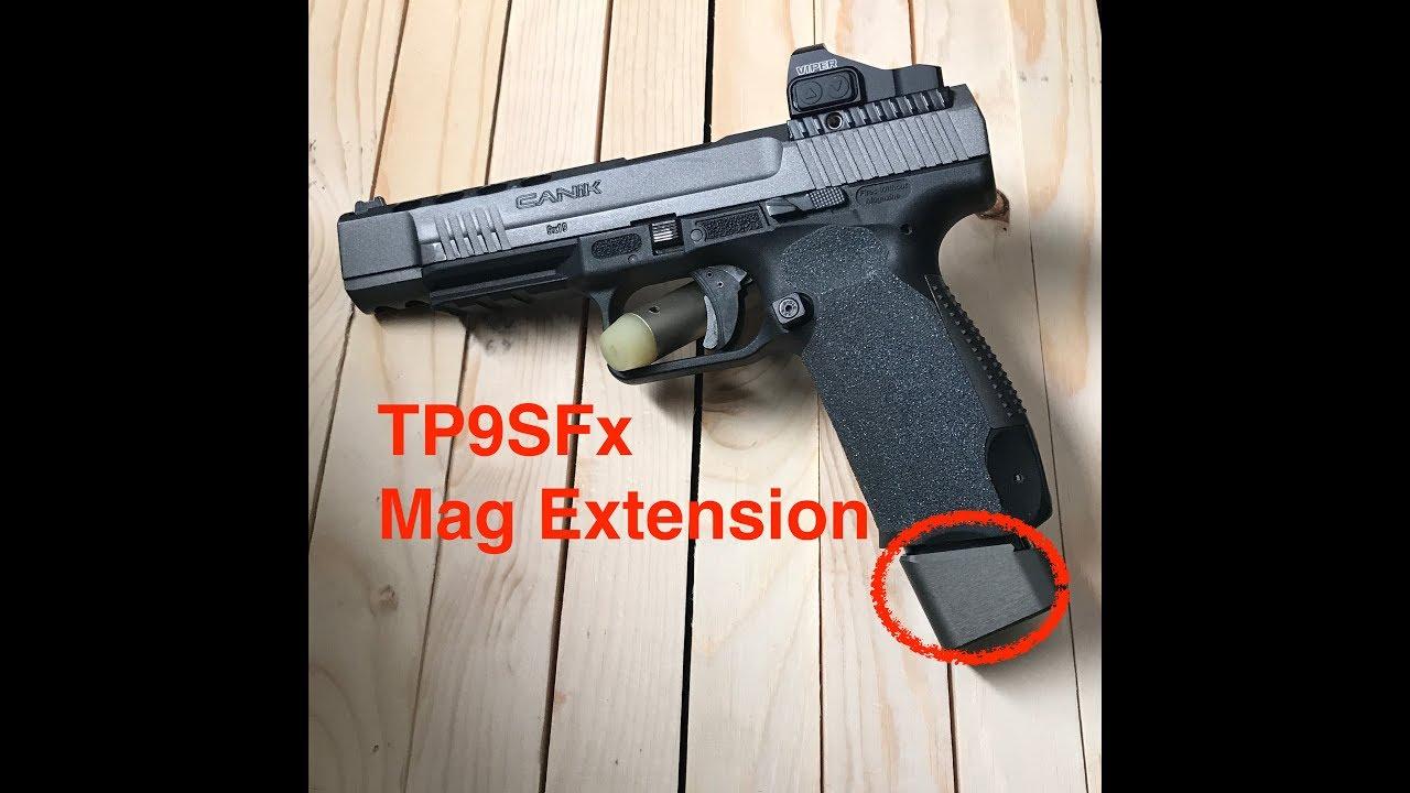Taran Tactical Magazine Extension Plate (Not USPSA Legal 2018 Update)