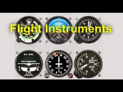 Flight Training Manual Lesson #10: Flight Instruments