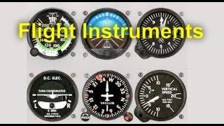 Flight Training Manual Lesson #10: Flight Instruments