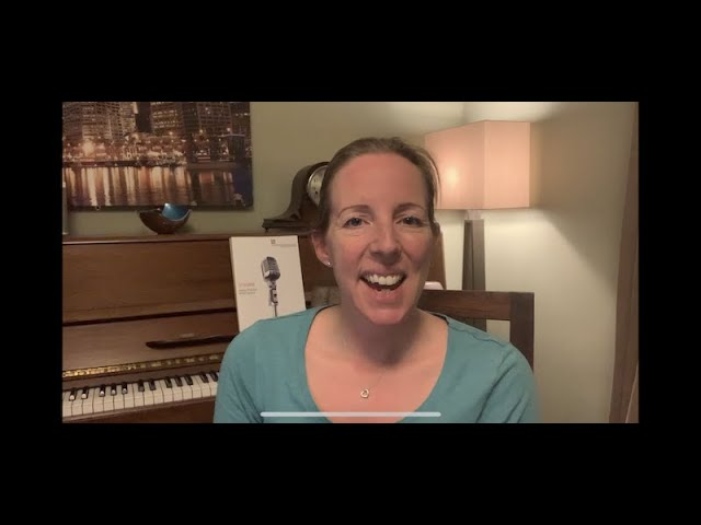 Zoom call Tutorial for Online Singing Lessons