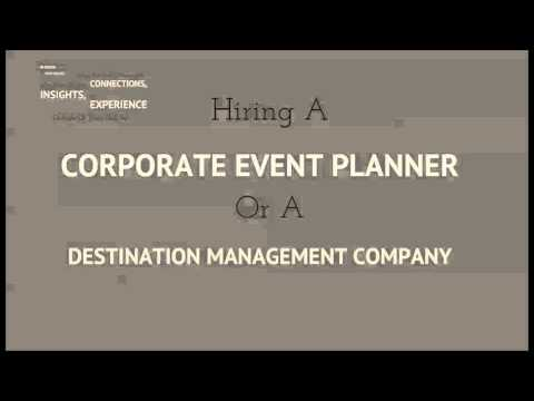 Reasons To Hire A Corporate Event Planner