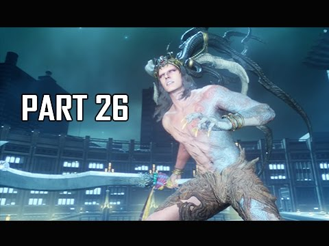 Final Fantasy 15 Walkthrough Part 26 - Ifrit Boss Battle (FFXV PS4 Pro Let's Play Commentary)
