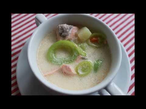 суп из лосося рецепт с пошаговым фото