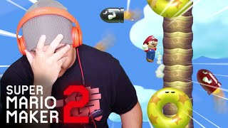 THIS LEVEL TOOK ME OUT!! [SUPER MARIO MAKER 2] [#68]