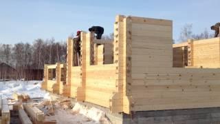 Строительство дома из профилированного бруса(, 2012-04-03T06:37:18.000Z)