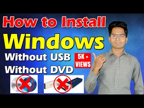 How to Install Windows 7, 8, 10 without DVD or USB || Windows Installation 2020