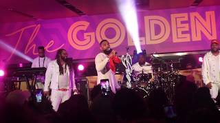GINUWINE Brings DAUGHTER To Play Guitar @ Essence Festival 2019 (In Those Jeans + Professor Griff)