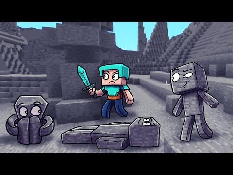 I AM STONE! Minecraft Morph Hide and Seek! (I AM STONE CHALLENGE )