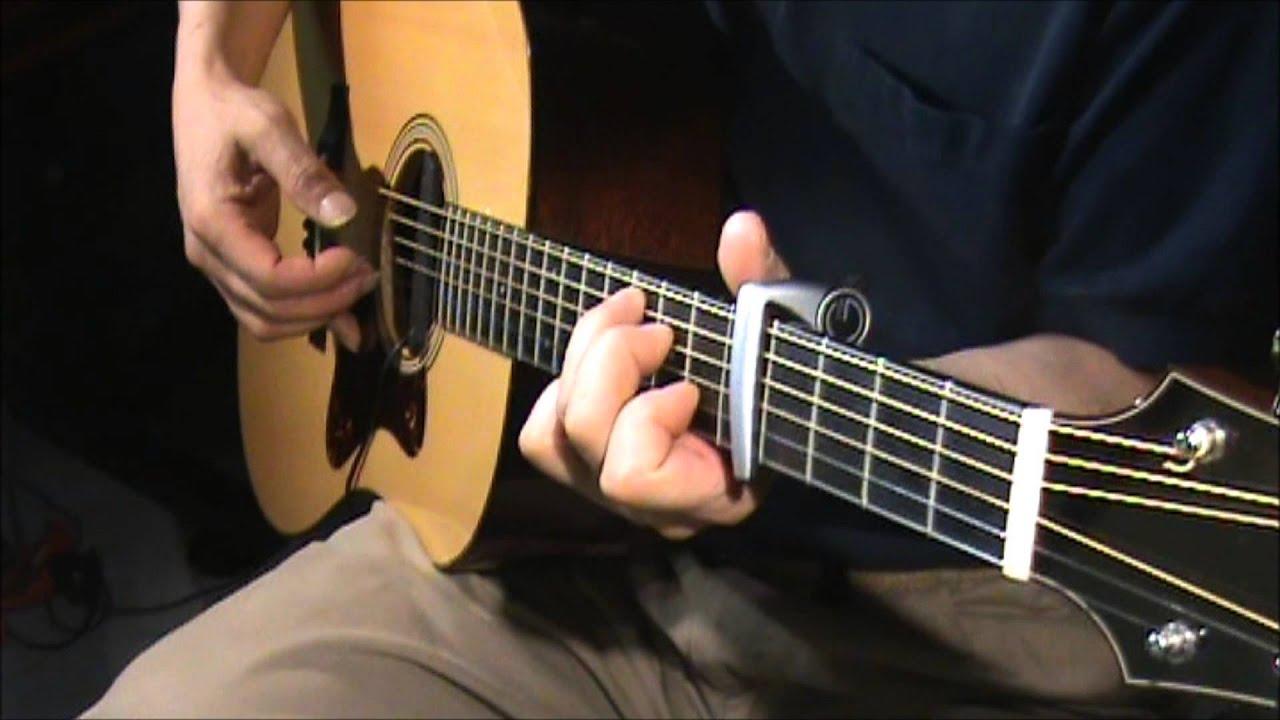 Guitar chords long cool woman black dress hollies bus