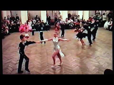 Ретро 1994 год Елена Левина Андрей Овчинников ДОфицеров Тверь Бальные танцы 💃🏼