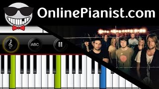 Hillsong United - Oceans (Where Feet May Fail) - Piano Tutorial & Sheets
