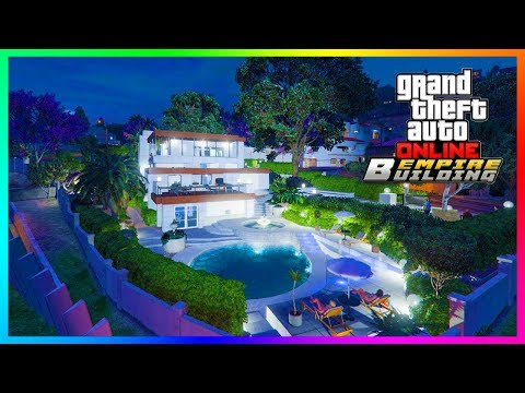 GTA Online Mansions Business Headquarters – 20 Vehicle Garages, NEW Properties, Car Slots & MORE!