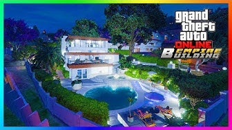 GTA Online Mansions Business Headquarters - 20 Vehicle Garages, NEW Properties, Car Slots & MORE!
