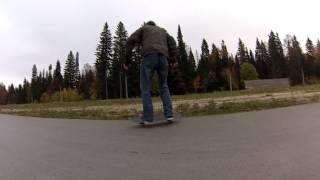 мои трюки на скейте начинающего