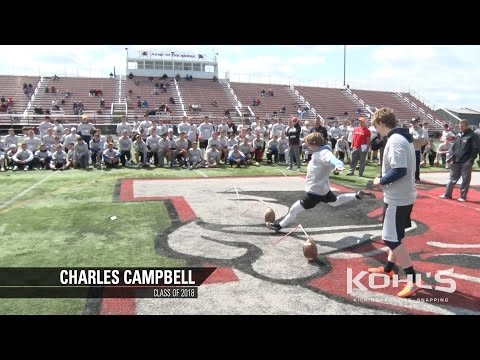 Charles Campbell | #9 Ranked Kicker in America | Class of 2018