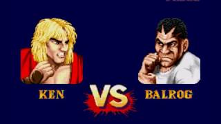 Street Fighter II:Special Champion Edition-Playthrough with Ken