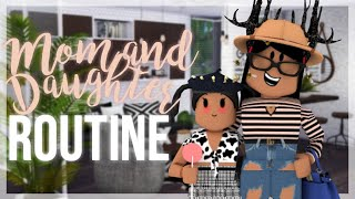 Mommy & Daughter RELAXING SATURDAY Routine♡ | Roblox Bloxburg | iiarabellaa