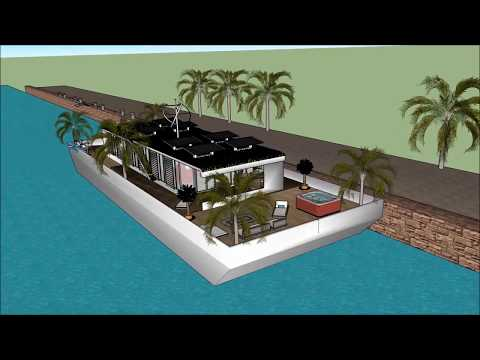 USA houseboat adventure – houseboats in Boston best luxury eco design with style
