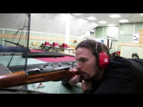 Swiss K-31 In Action - Brünig Indoor Schiess-Sport-Zentrum in Switzerland - Rex Reviews