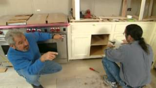 How To Install Custom Kitchen Cabinets - Manhattan Remodel - Bob Vila Eps.2916