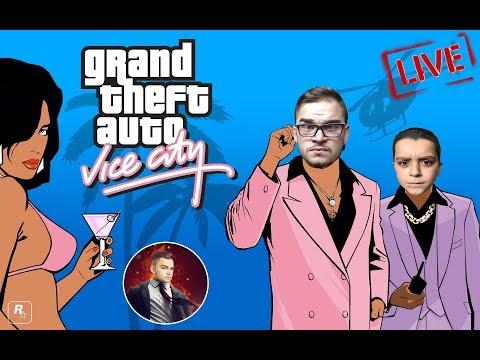 GTA : Vice City Shqip - Te Gjitha Missionet ne 1 Live Me JUSUF KINGIN - Shqip #1