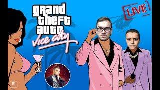 GTA : Vice City Shqip - Te Gjitha Missionet ne 1 Live Me JUSUF KINGIN - Shqip