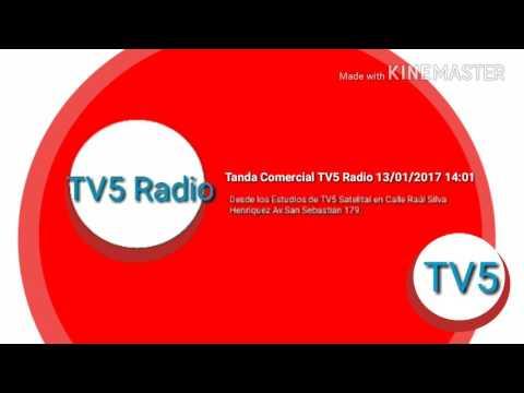 Tanda Comercial Radial TV5 Radio 13/01/2017