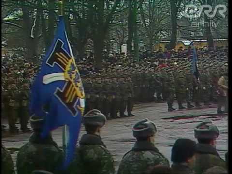 Estonian Military Parade (February 24, 1993)
