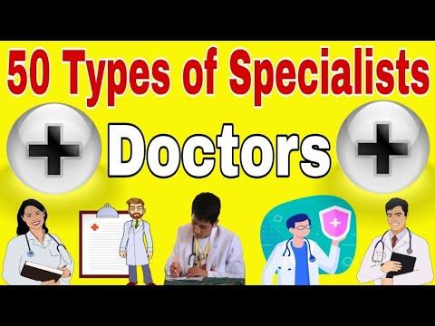 50 Types of Specialist Doctors | Types of Doctors | Doctors Specialist List in Hindi | Doctors list