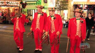 Dapper Dans sing Christmas songs at Disney World during Mickey's Very Merry Christmas Party 2011