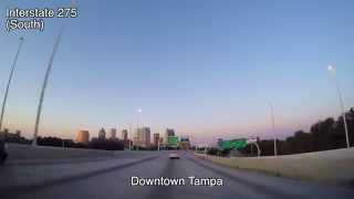 HD Time Lapse of Downtown Tampa Florida