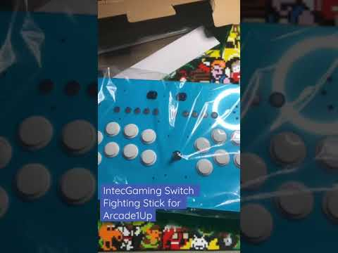 Unbox and first thoughts: IntecGaming Nintendo Switch Arcade Stick for Arcade1Up 3/4-scale cabinet from twoheadedjohn