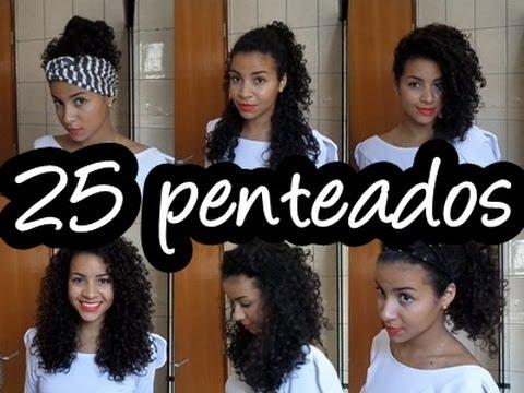 25 Penteados Para Cabelos Cacheados Camilla Santana