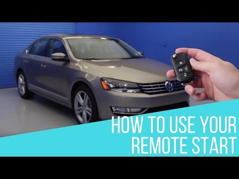 How to Use Remote Start on your Volkswagen