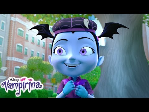 The Woodchuck Woodsie Way | Music Video | Vampirina | Disney Junior