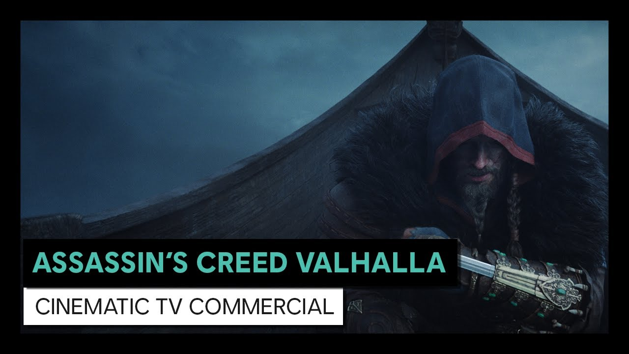 ASSASSIN'S CREED VALHALLA UNVEILS A NEW CGI TRAILER