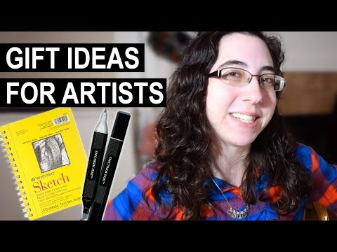 Cheap Gifts for Artists (Holiday Gift Guide)