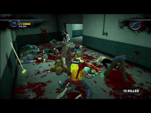 Dead Rising 2 Weapons Combo Demo