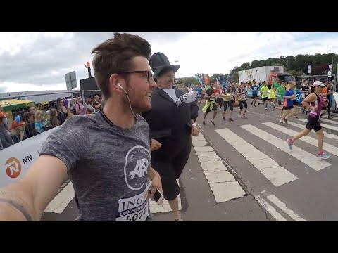 Luxembourg Half Marathon Trip 2016 - GoPro Hero 4 Black