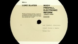 Luke Slater - Body freefall, Electronic inform