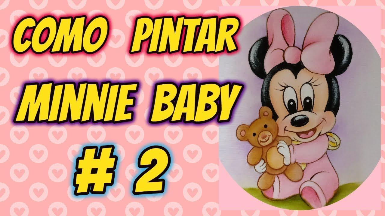 Minnie Baby 2 Aula Desenhos Crocantes Youtube