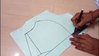 Katori blouse paper cutting (42 inch)