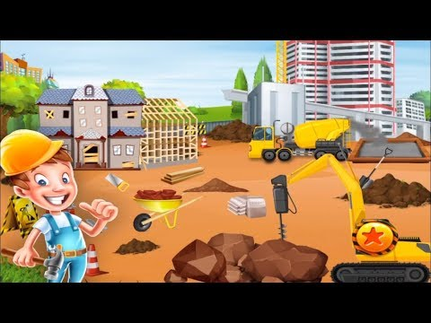 Pretend My Construction Worker - House Building Fun Play - Free Fun Games For Boys & Girls