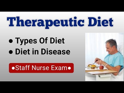 Therapeutic Diet || Dietary Management of Patients