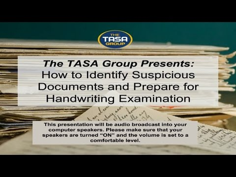 How To Identify Suspicious Documents And Prepare For Handwriting Examination