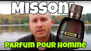 Missoni Parfum Pour Homme sample review