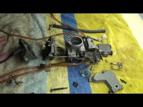 Kx250f 2008 Carburetor